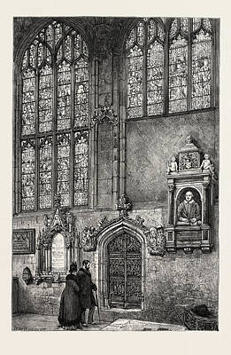 Stratford Drawing - View In The Chancel, Holy Trinity Church by English School