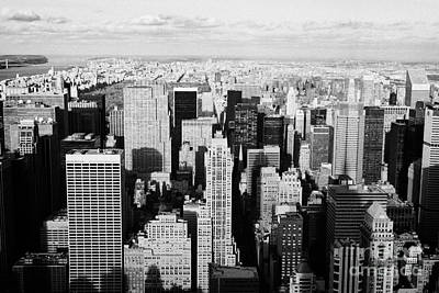View North Towards Central Park From Empire State Building New York Art Print by Joe Fox