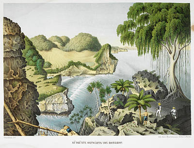 View Of A Coastal Area Art Print by British Library