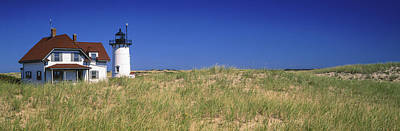 Barnstable Photograph - View Of A Lighthouse, Race Point Light by Panoramic Images