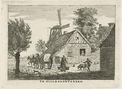 View Of A Village, Hendrik Roosing Art Print by Hendrik Roosing