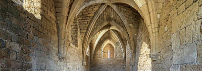 Building Feature Photograph - View Of Arches And Ceiling Of An Old by Panoramic Images