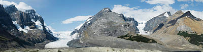 View Of Athabasca Glacier Art Print by Panoramic Images