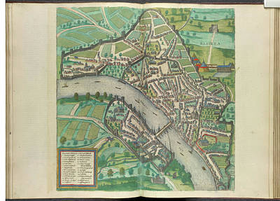 Cartography Photograph - View Of Basle by British Library