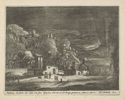 View Of Bethany, Nicolaes Lastman, Anonymous Art Print by Nicolaes Lastman And Anonymous And Jan Philipsz Schabaelje