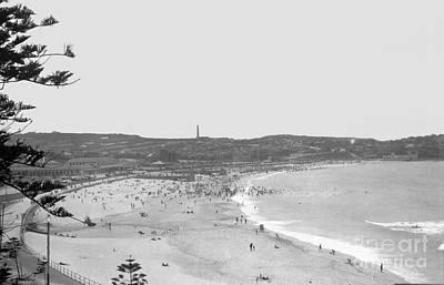 Paris Skyline Royalty-Free and Rights-Managed Images - View of Bondai Sydney Austalia 1932 by Nicholas Cornhill