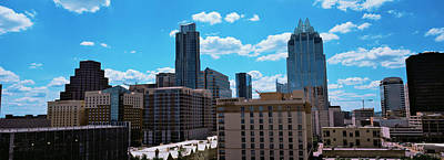 Austin Building Photograph - View Of Buildings In Austin, Texas, Usa by Panoramic Images