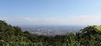 Views Photograph - View Of Chiang Mai Thailand - 01131 by DC Photographer