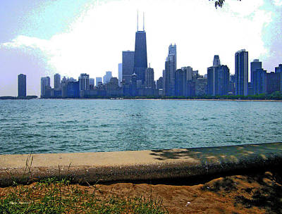 View Of Chicago Art Print