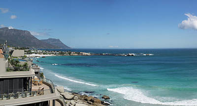 Cape Town Photograph - View Of Clifton Beach, Cape Town by Panoramic Images