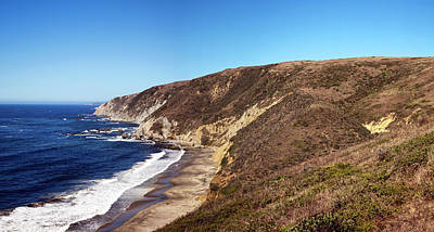 Point Reyes Photograph - View Of Coastline, Point Reyes National by Panoramic Images
