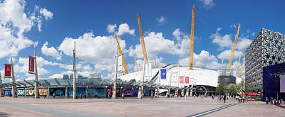 View Of Concert Hall, The O2 Art Print by Panoramic Images
