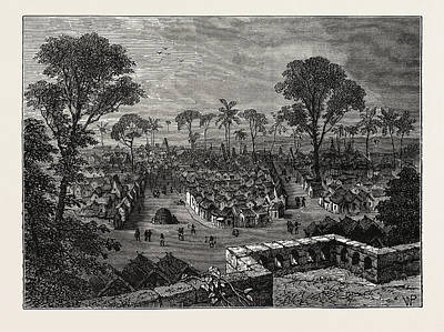 Empire State Drawing - View Of Coomassie by Litz Collection