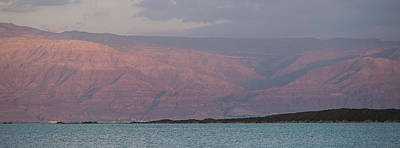 Jordan Photograph - View Of Dead Sea, Israel by Panoramic Images
