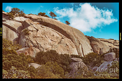Photograph - View Of Enchanted Rock From Loop Trail - Fredericksburg Texas Hill Country by Silvio Ligutti