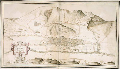 View Of Gap And Puymore Art Print by British Library