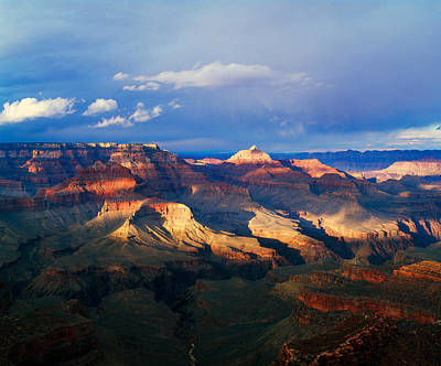Shoshone Photograph - View Of Grand Canyon From Shoshone by Panoramic Images
