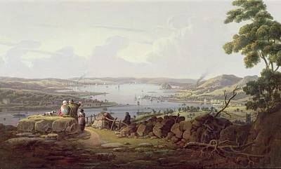 River View Painting - View Of Greenock, Scotland by Robert Salmon