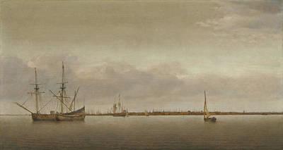 View Of Hoorn Art Print