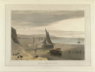 View Of Hoyle-lake In Cheshire Print by British Library