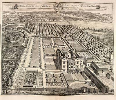 View Of Ightham Court Art Print