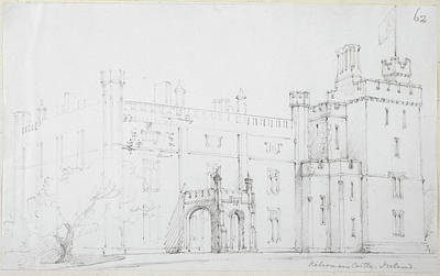 View Of Kilronan Castle Art Print by British Library
