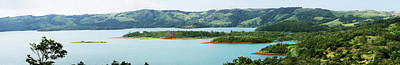 Arenal Photograph - View Of Lake In Arenal Volcano National by Panoramic Images
