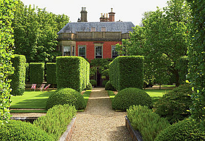 Photograph - View Of Mansion With Green Lawn by Tim Beddow