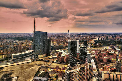 Photograph - View Of Milan by Roberto Pagani