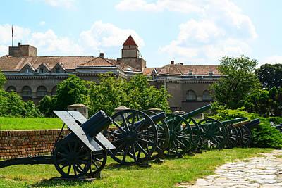 View Of Military Museum In Fortress Kalemegdan In Belgrade Serb Art Print