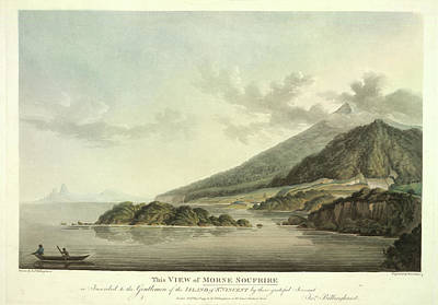 This Is England Photograph - View Of Morne Soufrire by British Library