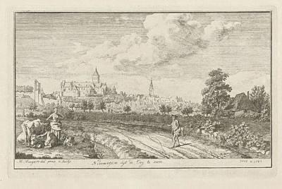 View Of Nijmegen, The Netherlands, Albert Flamen Art Print
