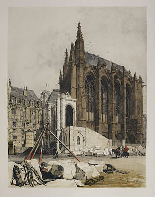 View Of Notre Dame Art Print by British Library