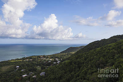 Photograph - View Of Ocean And Punta Tuna In Puerto Rico by Bryan Mullennix