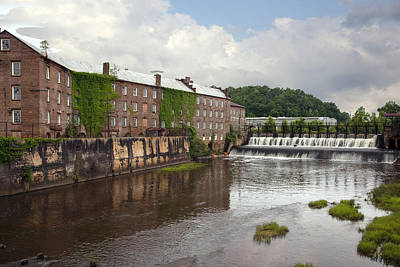 Photograph - View Of Original Cotton Mill In Prattville by Carol M Highsmith