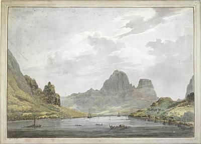 View Of Papetoai Bay Art Print