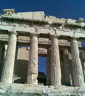 Photograph - View Of Parthenon by Katerina Kostaki