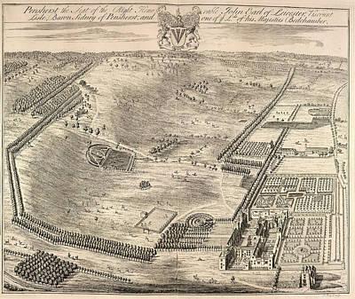 View Of Penshurst Art Print