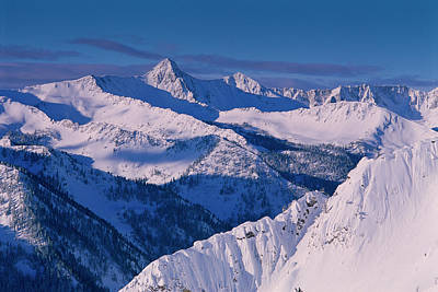 View Of Pfeifferhorn From The Big Art Print by Howie Garber