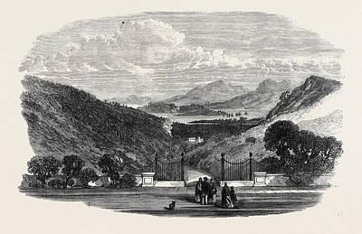Elba Drawing - View Of Porto Ferrajo From The Villa Martino Napoleons by English School