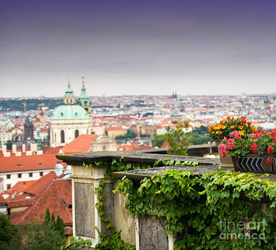 History Photograph - View Of Prague by Michal Bednarek