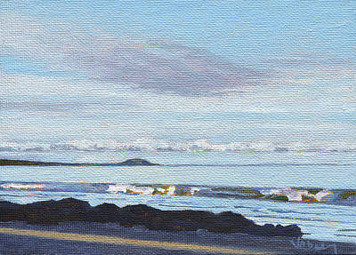 Haleiwa Painting - View Of Puu Olai by Stacy Vosberg