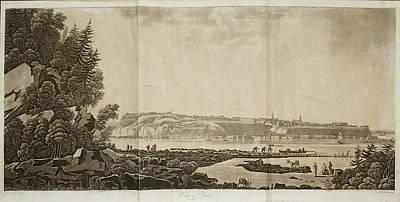 View Of Quebec Print by British Library