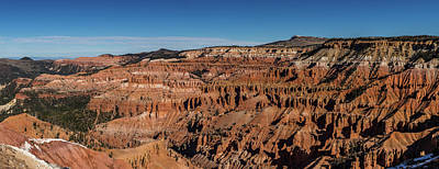 Break Of Day Photograph - View Of Rock Formations, Circle by Panoramic Images