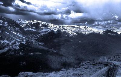 Photograph - View Of Rocky Mountain National Park From Trail Ridge Road by Dan Sproul