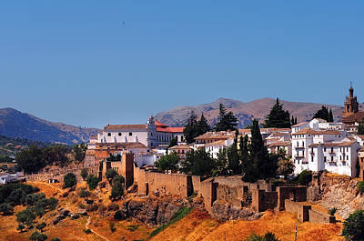 Photograph - View Of Ronda. Andalusia. Spain by Jenny Rainbow