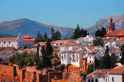 D300 Photograph - View Of Ronda I. Andalusia. Spain by Jenny Rainbow