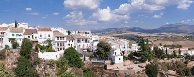 View Of Ronda, Malaga Province Art Print by Panoramic Images
