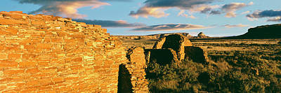 Chaco Photograph - View Of Ruins Of Hungo Pavi, Chaco by Panoramic Images