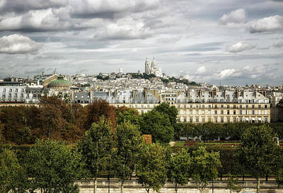 Photograph - View Of Sacre Coeur From The Musee D'orsay by Belinda Greb